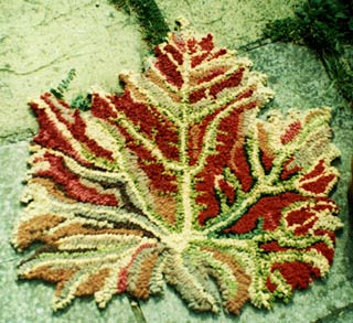 Maple Leaf Rug